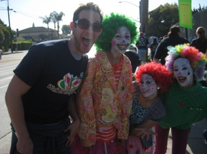 Hmmm, I still think I'm the biggest clown in this photo!